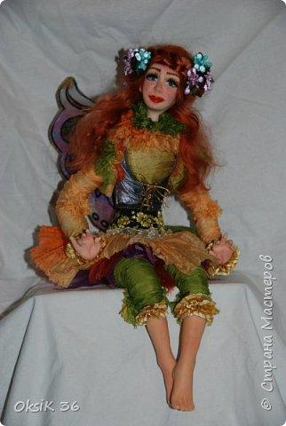 Флора.Авторская кукла. фото 1