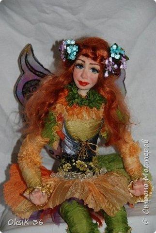 Флора.Авторская кукла. фото 8