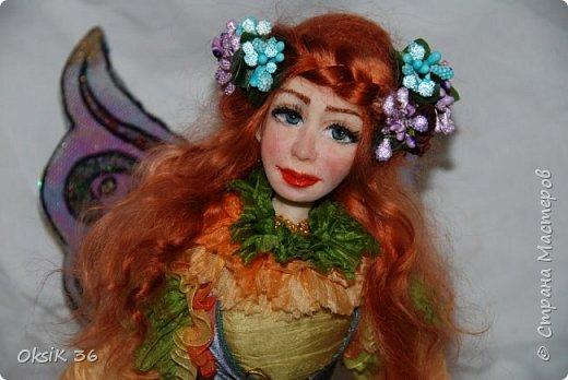 Флора.Авторская кукла. фото 2