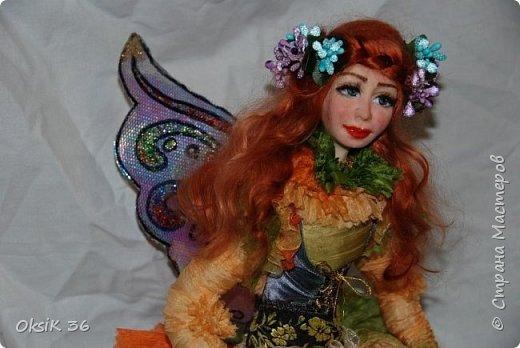Флора.Авторская кукла. фото 7