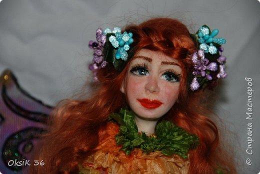 Флора.Авторская кукла. фото 5