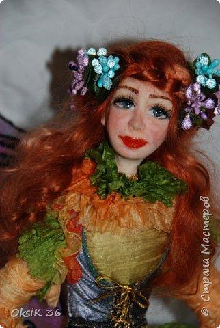 Флора.Авторская кукла. фото 6