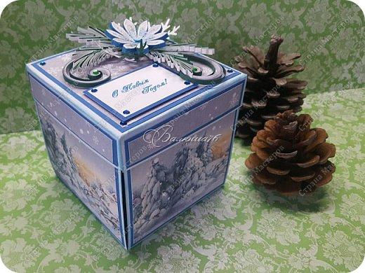 Новогодняя коробочка с сюрпризом. фото 1