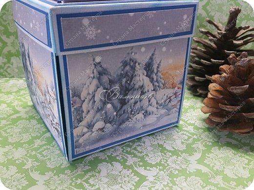 Новогодняя коробочка с сюрпризом. фото 2