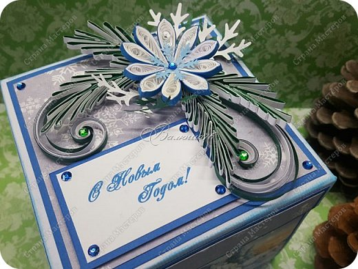 Новогодняя коробочка с сюрпризом. фото 3