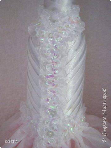 шляпка невесты. украшение на быки фото 3