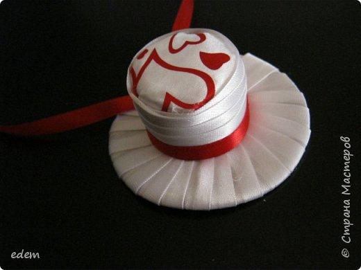 шляпка невесты. украшение на быки фото 1