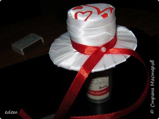 шляпка невесты. украшение на быки фото 2