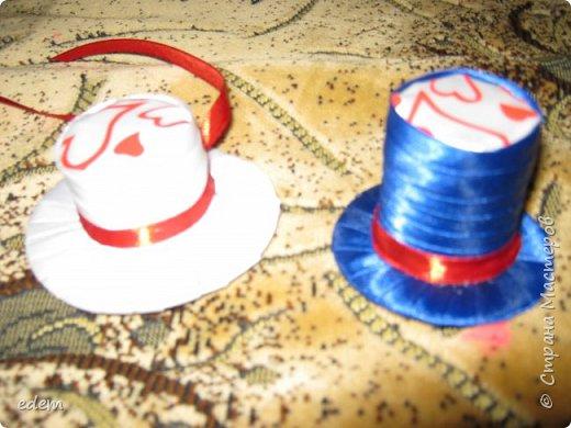 шляпка невесты. украшение на быки фото 5