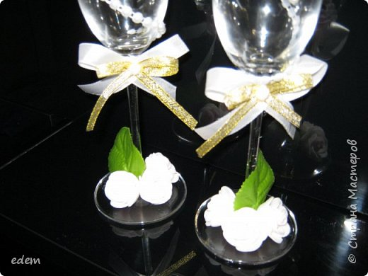 шляпка невесты. украшение на быки фото 9