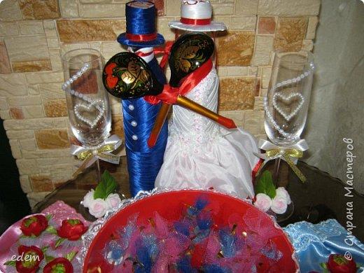 шляпка невесты. украшение на быки фото 11