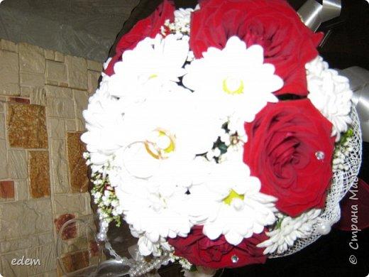 шляпка невесты. украшение на быки фото 12