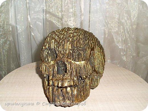 увидела череп в 3 d  в интернете.захотелось попробовать сделать ...вот что получилось фото 11