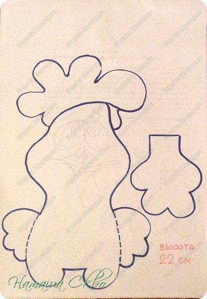 Находясь в ПОЛНЕЙШЕМ ВОСТОРГЕ от росписи Надеждой Колонтьевой текстильных игрушек, решила рискнуть и сотворить хоть что- нибудь наподобие её восхитительных кофейных петушков http://stranamasterov.ru/node/1057969?c=favorite фото 5