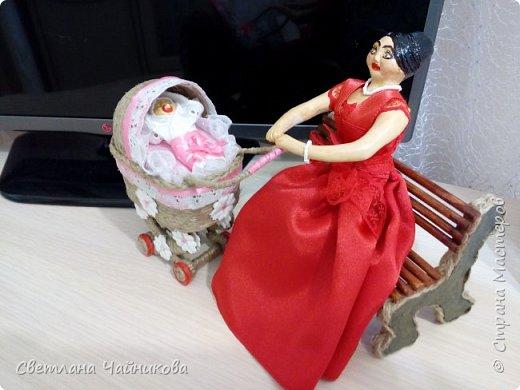 Композиция закончена, счастливая мамочка со своей малышкой!! фото 5