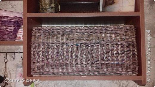 Коробочка для полочки фото 1