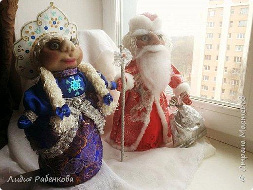 Моя новогодняя парочка. Дед Мороз и Снегурочка фото 2
