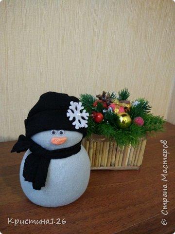 Решила сделать в подарок подружке на рабочий стол Новогоднюю композицию фото 5