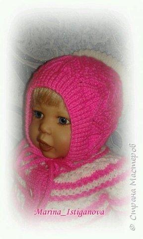 Ажурный розовый костюм фото 14