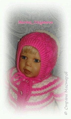 Ажурный розовый костюм фото 13