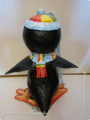Пингвин на елку в садик, уже для другого внука! пошли по кругу! фото 7