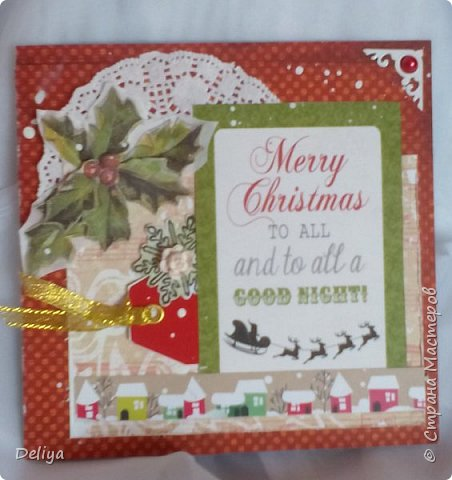 Серия рождественских открыток фото 2