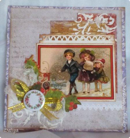 Серия рождественских открыток фото 4