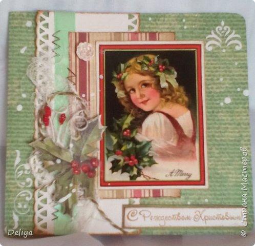 Серия рождественских открыток фото 5