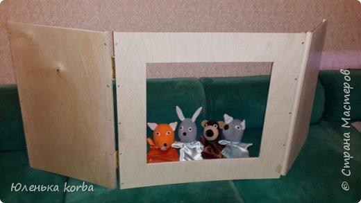 Кукольный театр сшит по просьбе воспитателей в садик. фото 5