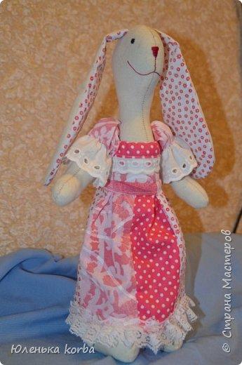 Кролик сшит в подарок племяннице Вероничке. фото 1