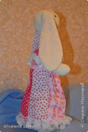 Кролик сшит в подарок племяннице Вероничке. фото 2
