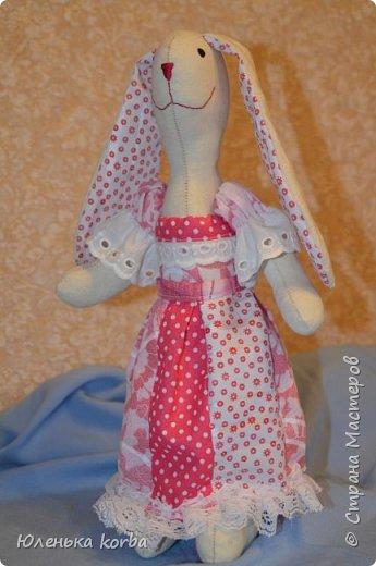 Кролик сшит в подарок племяннице Вероничке. фото 4