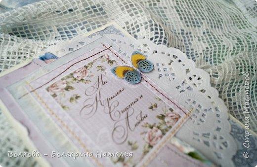 Всем привет:) На носу вот-вот зима, а у меня - снова летняя лёгкая открытка:) фото 2