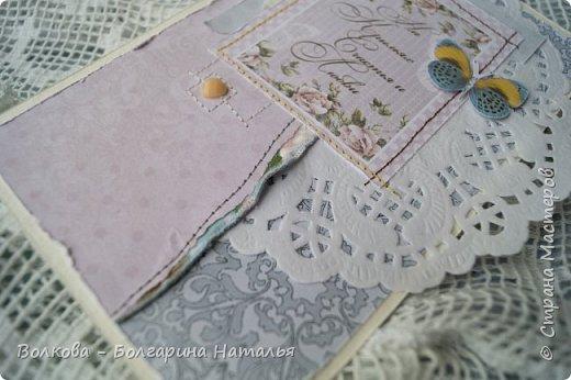 Всем привет:) На носу вот-вот зима, а у меня - снова летняя лёгкая открытка:) фото 6
