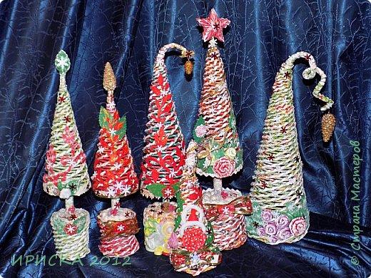 Привет всем!!! Сегодня я к Вам с новогодними ёлочками!!! Заготовки уже неделю стояли и дожидались своего часа. фото 1
