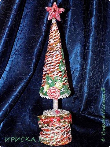 Привет всем!!! Сегодня я к Вам с новогодними ёлочками!!! Заготовки уже неделю стояли и дожидались своего часа. фото 6