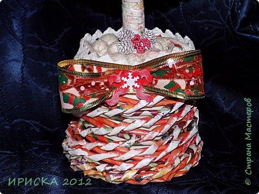 Привет всем!!! Сегодня я к Вам с новогодними ёлочками!!! Заготовки уже неделю стояли и дожидались своего часа. фото 7