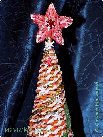 Привет всем!!! Сегодня я к Вам с новогодними ёлочками!!! Заготовки уже неделю стояли и дожидались своего часа. фото 9