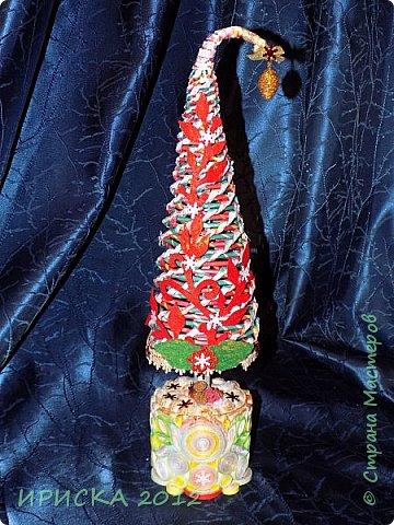 Привет всем!!! Сегодня я к Вам с новогодними ёлочками!!! Заготовки уже неделю стояли и дожидались своего часа. фото 10