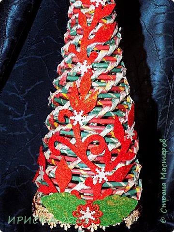 Привет всем!!! Сегодня я к Вам с новогодними ёлочками!!! Заготовки уже неделю стояли и дожидались своего часа. фото 13