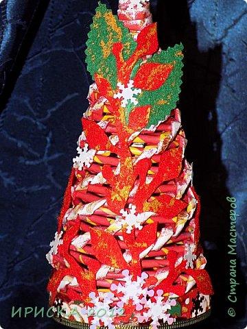 Привет всем!!! Сегодня я к Вам с новогодними ёлочками!!! Заготовки уже неделю стояли и дожидались своего часа. фото 18