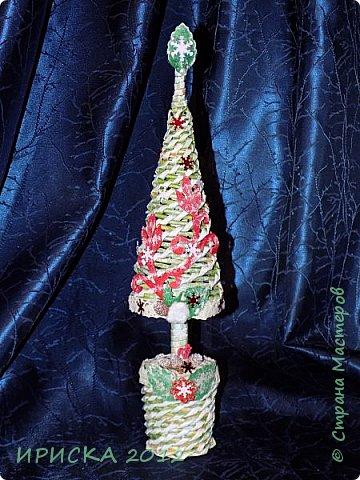 Привет всем!!! Сегодня я к Вам с новогодними ёлочками!!! Заготовки уже неделю стояли и дожидались своего часа. фото 19