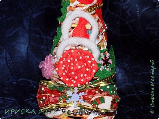 Привет всем!!! Сегодня я к Вам с новогодними ёлочками!!! Заготовки уже неделю стояли и дожидались своего часа. фото 24