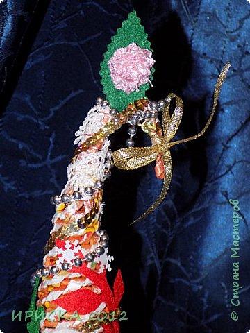 Привет всем!!! Сегодня я к Вам с новогодними ёлочками!!! Заготовки уже неделю стояли и дожидались своего часа. фото 25