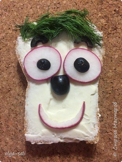Веселые бутерброды фото 1