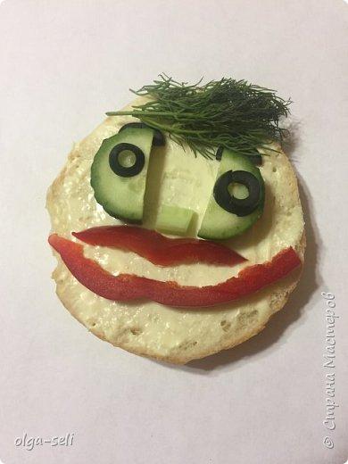 Веселые бутерброды фото 2