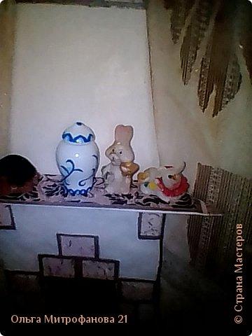 Всем привет! вот решила камин для кукол новый устроить. фото 4