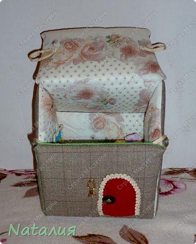 Мягкий домик для кукол фото 2