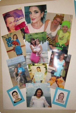 Вот такую стенгазету я сделала ко Дню матери: фото 5