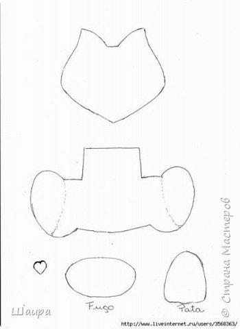 В продолжение темы елочных игрушек на городскую елку http://stranamasterov.ru/node/1061551. Котик 24 см из салфеток для уборки и целофанового кулька. фото 3